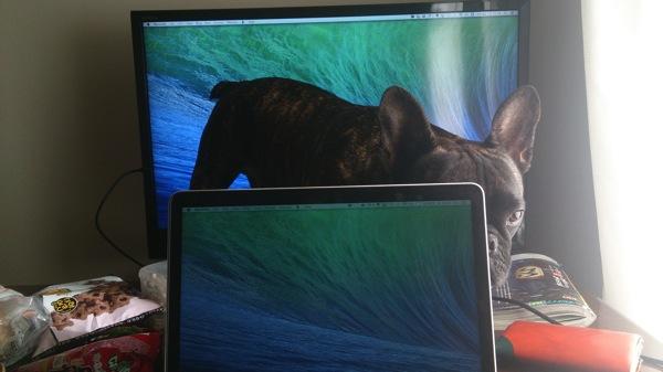 MacBookProRetina late2013を家族で活用!HDMIでテレビをサブディスプレイ化!